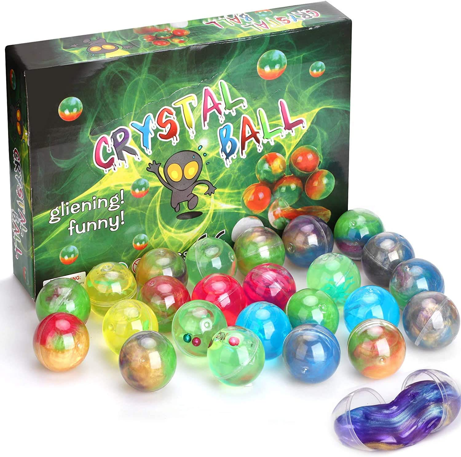 Fidget Toys Set Galaxy Slime All items in Max 59% OFF the store Kit Balls Squishy Putty Eggs