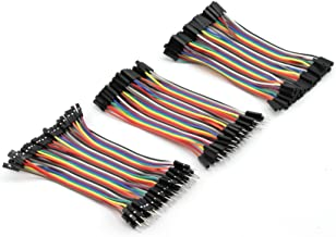 40pcs 40cm 1p-1p Connector Female to Female Dupont Wire Cable Line 2.54mm TP