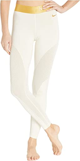 Pro Warm 7/8 Champagne Tights
