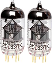 BALANCED /& Matched Quad Telefunken Reissue 12AX7 ECC83-TK Tubes Black Diamond