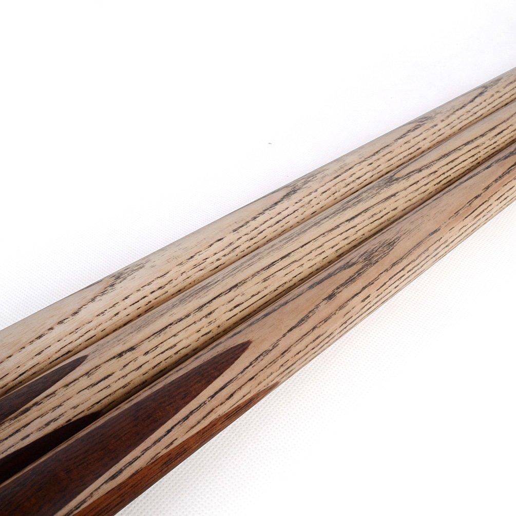 Cuesoul Taco de billar de nogal de 145,4 cm, 3/4 piezas, 510 g ...