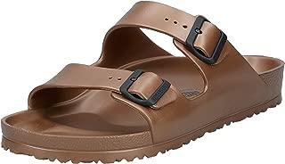 Birkenstock Arizona EVA, Men's Fashion Sandals, Brown (Metallic Copper 1001499), 46 EU