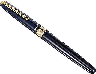 Platinum CF-5000 Natural Weasel Hair Brush Pen - Blue Marble Print Body