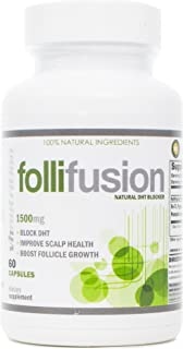 FolliFusion | DHT Blocker for Women and Men | Hair Regrowth Supplement