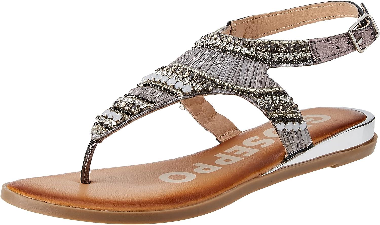 GIOSEPPO Women's Crandon Sandal Inexpensive Max 61% OFF Flat