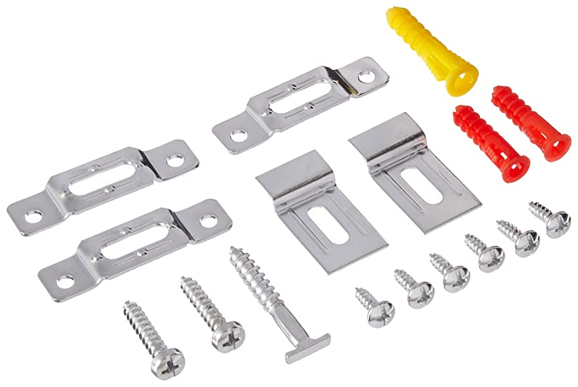Security Hangers Sec_20 Hardware Kits for Art Picture Frame, Mirror Secure Safe Hanging Installation with Free Wrench