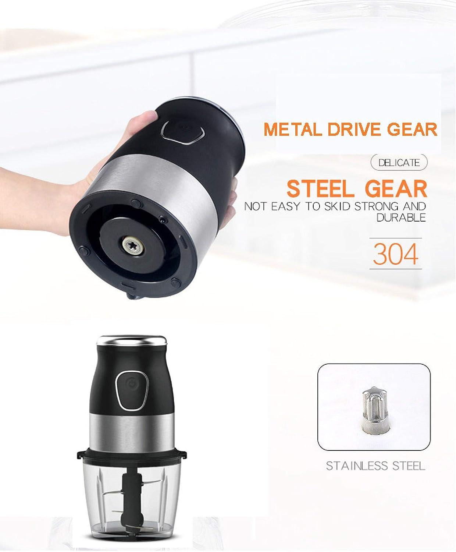 Presse Agrumes Multi Function 500W Food Processor Meat Grinder Portable Personal Mini Blender Mixer Juicer Dry Grinder 800ml Chopper FullKits4in1 Fullkits4in1