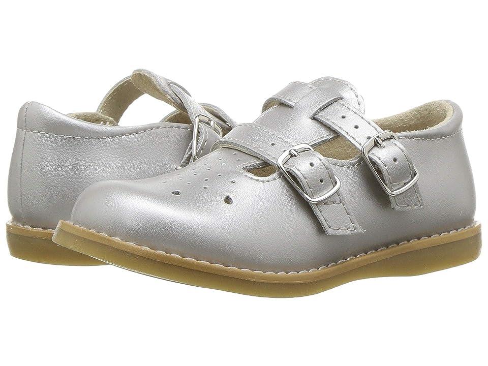 FootMates Danielle 3 (Infant/Toddler/Little Kid) (Silver) Girls Shoes