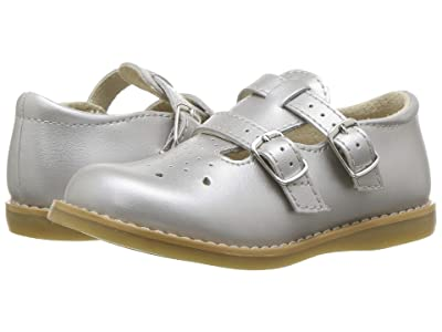 FootMates Danielle 3 (Infant/Toddler/Little Kid) (Silver) Girls Shoes