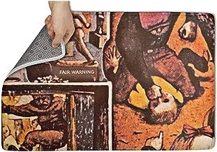 CAPXIEeY Entrance Mat Non-Slip Front Doormat Shoe Entry Rug Music Band Album Art 23.5