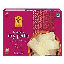 Bhikharam Chandmal Dry Agra ka Petha | White Petha | Dry Sweet | Special Agra Petha (425g Pack of 1)