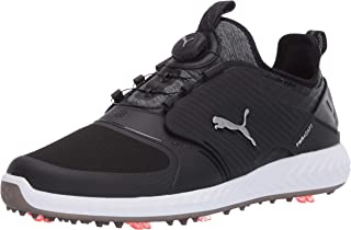 PUMA Men's Ignite Pwradapt Caged Disc Golf Shoe