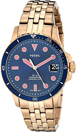 ES4767 Rose Gold Stainless Steel