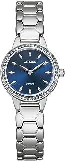 Citizen Women's Quartz Stainless Steel Strap, Silver, 12 Casual Watch (Model: EZ7010-56L)