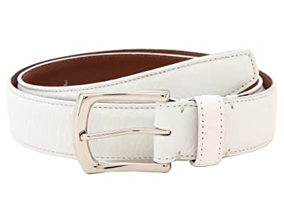 Torino Leather Co. 35MM Burnished Tumbled (White) Men