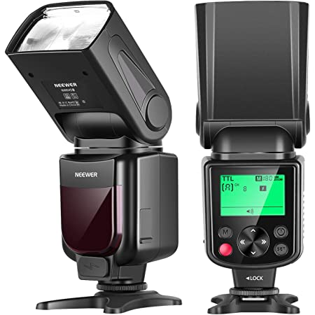 Neewer 750ii Ttl Blitz Speedlite Mit Lcd Display Für Kamera
