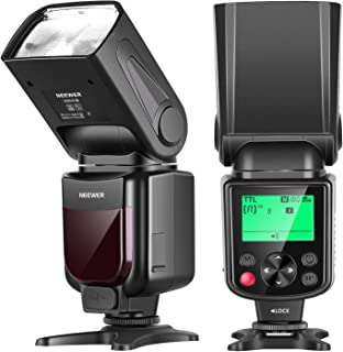 Neewer NW645-N TTL GN58 Camera Flash Speedlite, HSS 1/8000s with LCD Display Compatible with Nikon DSLRs D810/D800/D750/D7...