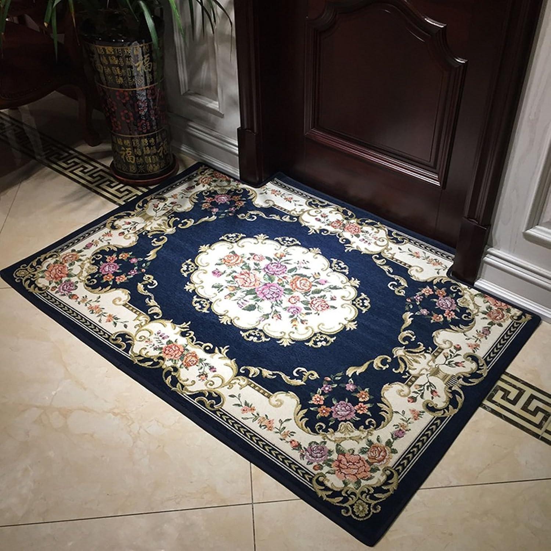 Doormat European Style,Home,Carpet Door,[Hall],The Door,Living Room Indoor mat Foot pad [Absorbent],Anti-skidding,Door mats-E 120x120cm(47x47inch)