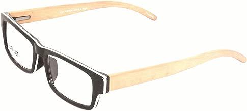 BLUE PLANET Reading Glasses Eco Friendly Men Women Sustainable Bamboo Ladies Designer Eyeglasses Black +1.50