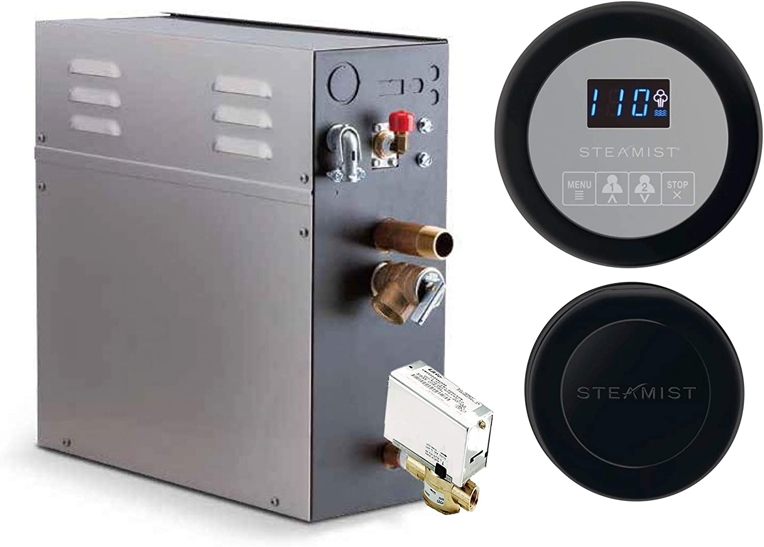 24 KW Steam San Francisco Mall Bath Generator Steamist Time SMP-24 250 Digital Gorgeous with