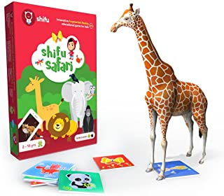 Shifu Safari Augmented Reality Learning Games - Ios and Android, 60 Animal Cards, Multi-Colour