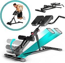Sportstech gezond en fit in 2020 6in1-rugtrainer & buiktrainer incl. dipstang voor thuis, ergonomisch in hoogte verstelbaa...