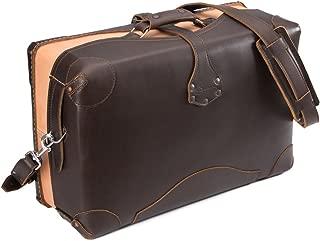 Saddleback Leather Soft Sided Carry On Suitcase - 100 Year Warranty