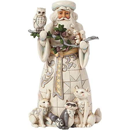 1958 Vintage Large Ceramic Santa Claus Figurine Christmas Holiday Decoration Italy