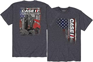 Case IH American Flag CASE IH - Adult Short Sleeve Tee
