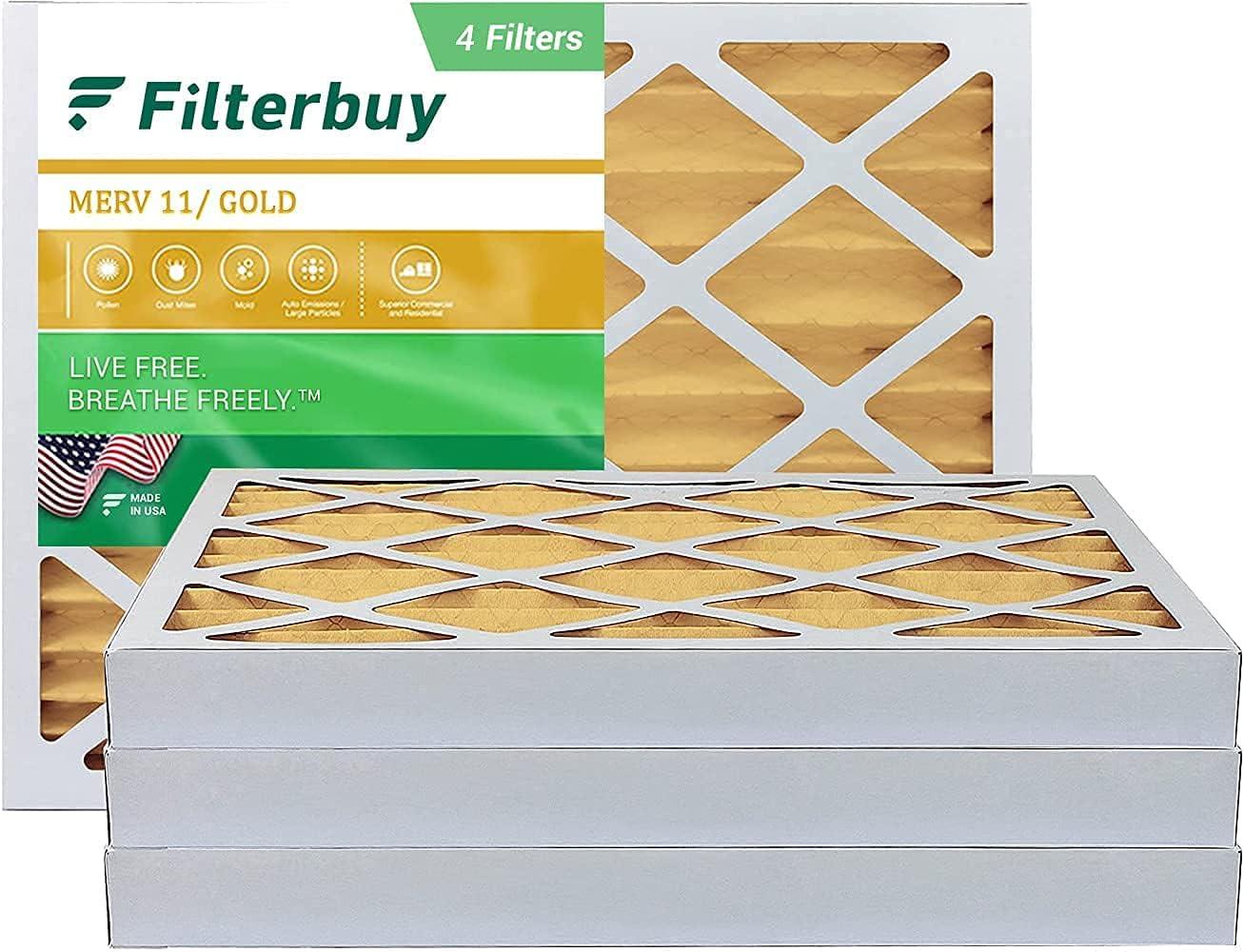 Regular dealer FilterBuy 18x24x2 Ranking TOP11 Air Filter MERV 11 AC HVAC Fi Pleated Furnace