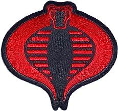 GI Joe Cobra Logo Iron-On Patch