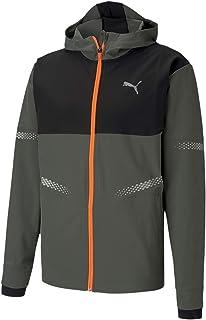 mens Runner Id Hooded Jacket