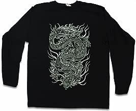 Urban Backwoods Chinese Tattoo Dragon Long Sleeve T-Shirt