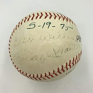 Mickey Mantle Signed Ball - Vintage 1975 COA In Las Vegas - JSA Certified - Autographed Baseballs