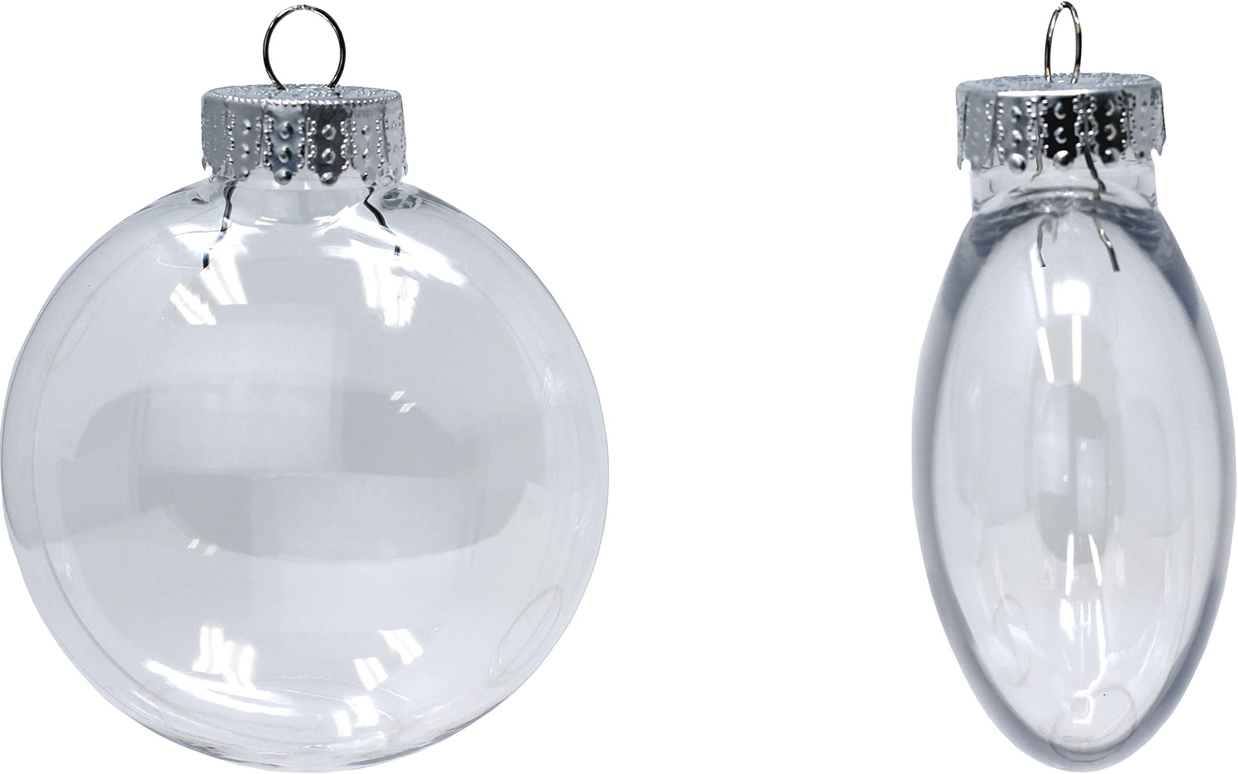 FREE Shipping Pack of 100-100mm Clear Plastic Disc shaped Ornaments