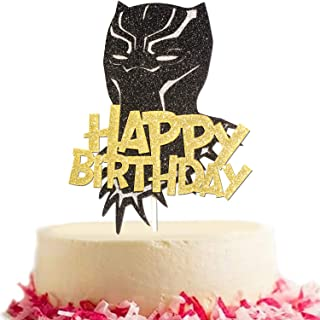 Best black panther cake topper Reviews