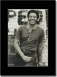 gasolinerainbows - Bill Withers - What is He to You - Matted Mounted Magazine Promotional Artwork on a Black Mount