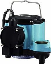 Little Giant GIDDS-521252 12393 1/3 HP Automatic Sump Pump, 2760 GPH, Blue
