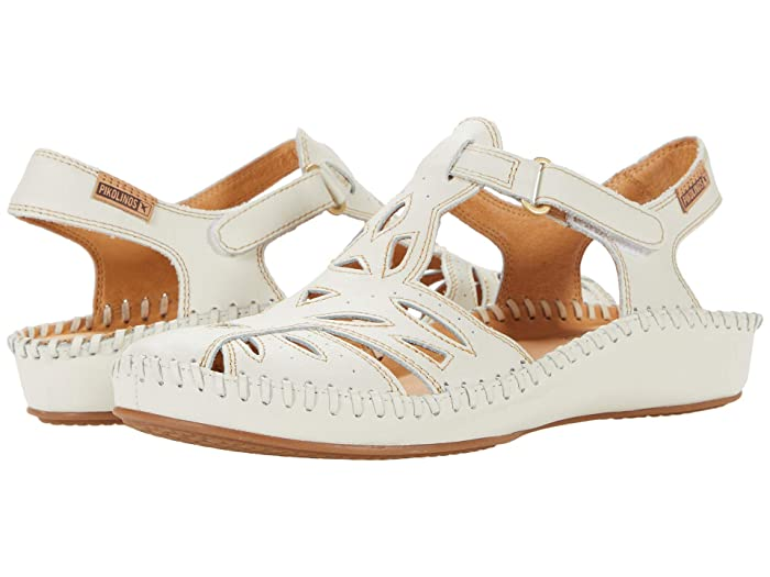 Vintage Sandals | Wedges, Espadrilles – 30s, 40s, 50s, 60s, 70s Pikolinos Puerto Vallarta 655-8312 Nata Womens Shoes $160.00 AT vintagedancer.com
