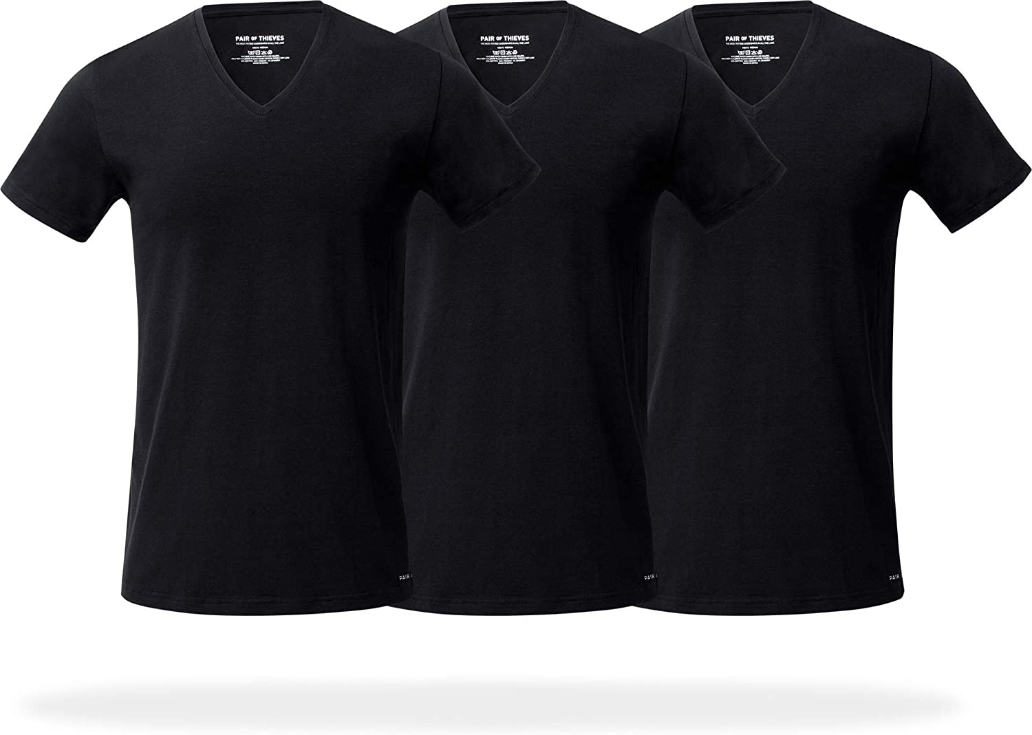 Pair of Thieves At the price of surprise Slim Fit V-Neck T-Shirts for 3 Tag Ranking TOP3 Pack Men