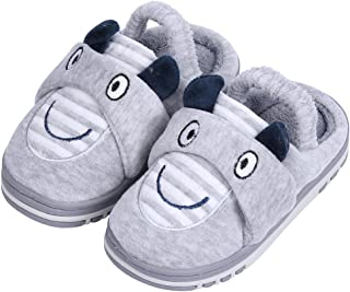 UIESUN Unisex Toddler Kids Slippers Shoes for Boys Girls House Slipper