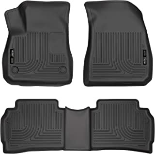 Husky Liners 99191 Fits 2016-20 Chevrolet Malibu Weatherbeater Front & 2nd Seat Floor Mats