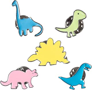 Dinosaur Pins Brooch Lapel For Girls Boys Backpacks Bags Clothing Stegosaurus Tyrannosaurus Triceratops Brontosaurus Trachodon