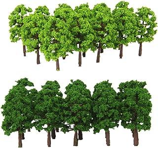 Blesiya 40 Stuks Modelboom Modelboom Voor Modelbouw Van Modelspoorbanen