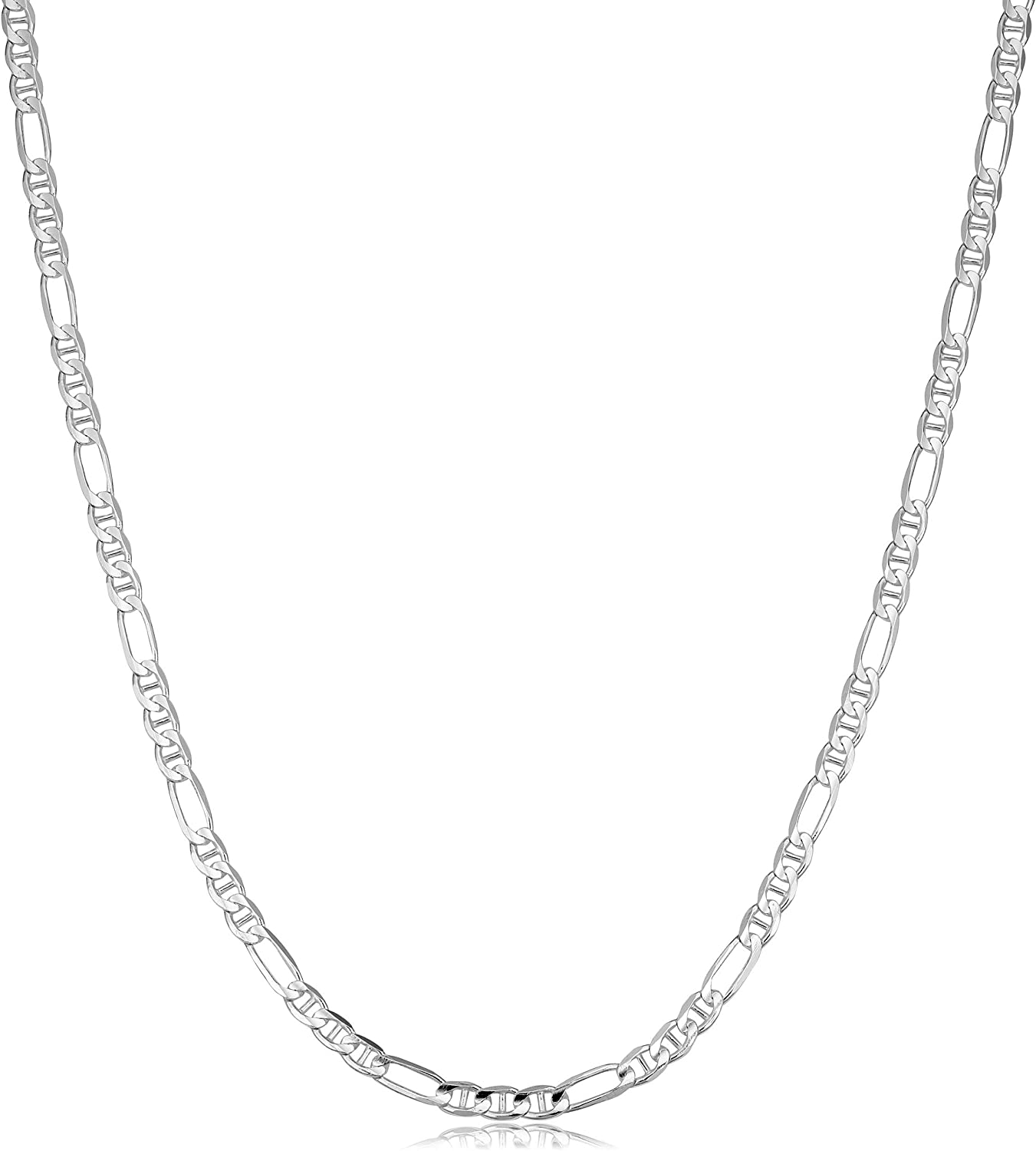 Verona Sale special price Jewelers overseas Solid 925 Sterling Necklace Figarucci 3M Silver