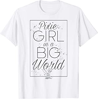 Disney Peter Pan Tinker Bell Pixie Girl Big World Poster T-Shirt