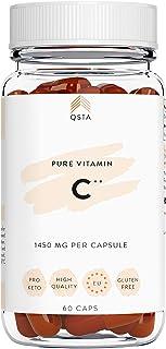 Keto Plus Actives Vitamina C (2 MESES) - 100% Vitamina C, Promueve Energía, Mejora tu Inmunidad, Sin Aditivos, Acción Reta...