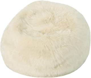 Christopher Knight Home Laraine Furry Glam Taupe Faux Fur 3 Ft. Bean Bag