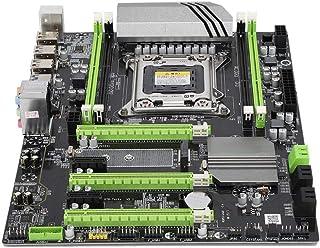 Placa madre LGA 2011, DDR3 X79T Computadora Placa base de escritorio Nvme Canal PCIEx4 Dual USB3.0 4Gb / s Gigabit NIC Diseño de luz indicadora doble, 4 ranuras de memoria Canal dual Fuente de aliment