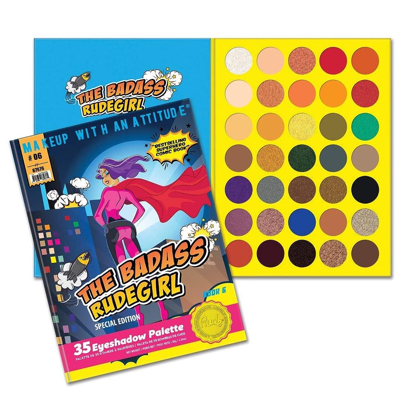 深くボトルネックペック(6 Pack) RUDE? The Badass RudeGirl 35 Eyeshadow Palette - Book 6 (並行輸入品)
